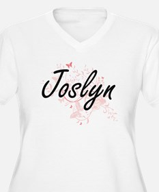 Joslyn Artistic Name Design with Plus Size T-Shirt