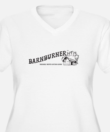 Barnburner Logo Plus Size T-Shirt