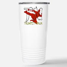 Unique Flautist Travel Mug