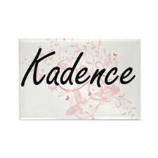 Kadence Artistic Name Design with Butterfl Magnets