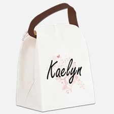 Kaelyn Artistic Name Design with Canvas Lunch Bag