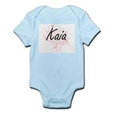 Kaia Artistic Name Design with Butterfli Body Suit