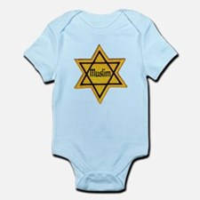 Cute Star david Infant Bodysuit