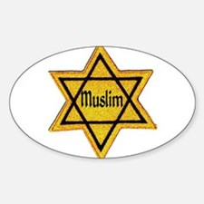 Unique Muslim Sticker (Oval)