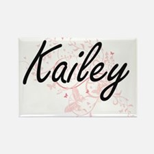 Kailey Artistic Name Design with Butterfli Magnets