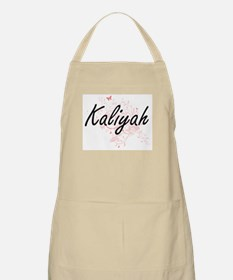Kaliyah Artistic Name Design with Butterflie Apron
