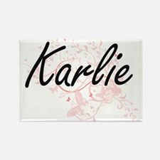 Karlie Artistic Name Design with Butterfli Magnets