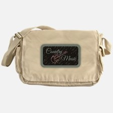 Country Music Messenger Bag