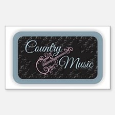 Country Music Decal