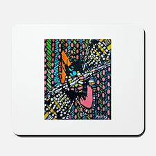Retro Colors Mousepad