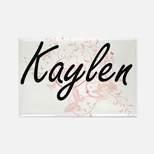 Kaylen Artistic Name Design with Butterfli Magnets