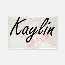 Kaylin Artistic Name Design with Butterfli Magnets