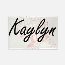 Kaylyn Artistic Name Design with Butterfli Magnets