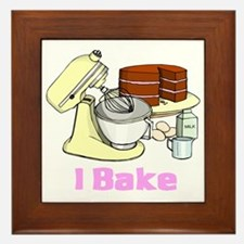 I Bake Framed Tile