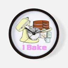 I Bake Wall Clock