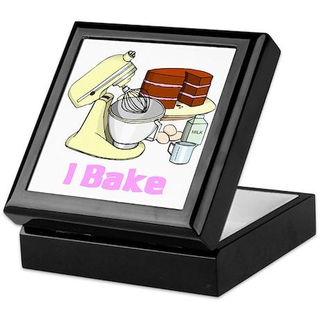 I Bake Keepsake Box