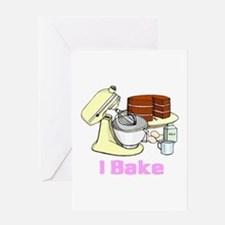 I Bake Greeting Card