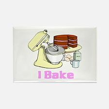 I Bake Rectangle Magnet (10 pack)