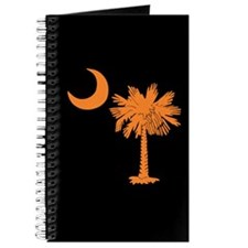 Orange and Black South Carolina Flag Journal