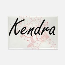 Kendra Artistic Name Design with Butterfli Magnets