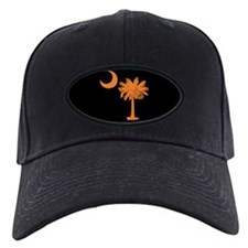 Orange and Black South Carolina Flag Baseball Cap