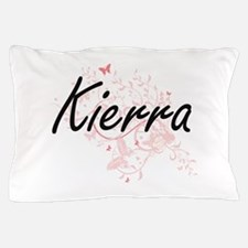 Kierra Artistic Name Design with Butte Pillow Case