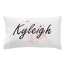 Kyleigh Artistic Name Design with Butt Pillow Case