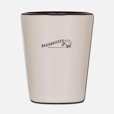 Barnburner Logo Shot Glass