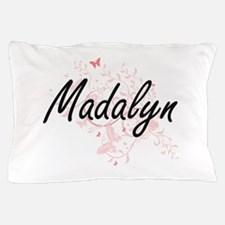 Madalyn Artistic Name Design with Butt Pillow Case