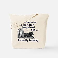 Schipperke Agility Tote Bag