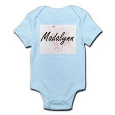 Madalynn Artistic Name Design with Butte Body Suit