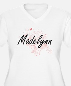 Madelynn Artistic Name Design wi Plus Size T-Shirt