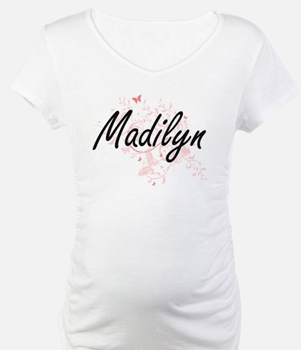 Madilyn Artistic Name Design wit Shirt
