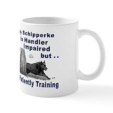 Schipperke Agility Mug