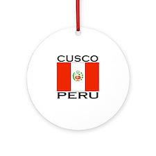 Cusco, Peru Ornament (Round)