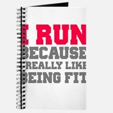 I run because i really like being fit Journal