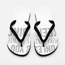 Unique Burpees Flip Flops