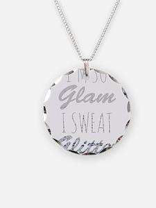 I'm So Glam I Sweat Glitter Necklace