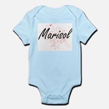 Marisol Artistic Name Design with Butter Body Suit