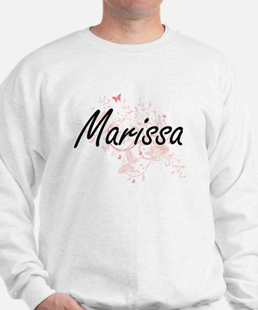 Marissa Artistic Name Design with Butte Sweater