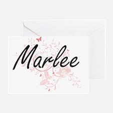 Cute Marlee Greeting Card