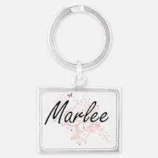 Cute Marlee Landscape Keychain