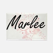 Marlee Artistic Name Design with Butterfli Magnets