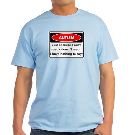 Autism Warning Light T-Shirt