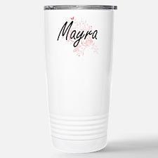 Mayra Artistic Name Des Travel Mug