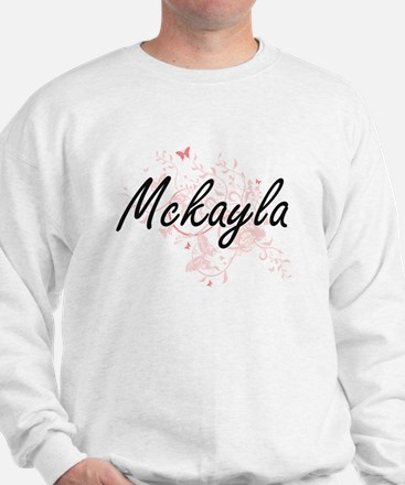 Mckayla Artistic Name Design with Butte Sweater