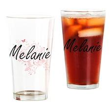 Unique Melanie Drinking Glass