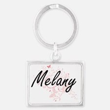 Unique Melany Landscape Keychain