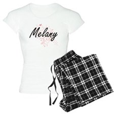 Melany Artistic Name Design Pajamas