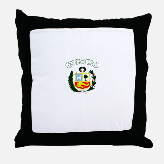 Cusco, Peru Throw Pillow